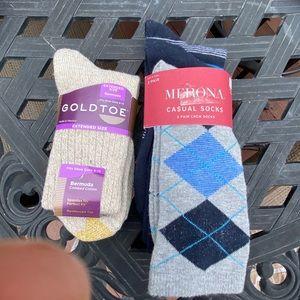 Gold toe and merona socks